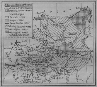 Anfänge des Moskauer Reiches