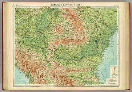 Rumania & adjacent states.