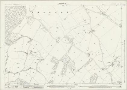 Hertfordshire XX.2 (includes: Ippollitts; Knebworth; Langley; St Pauls Walden) - 25 Inch Map
