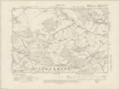 Hampshire & Isle of Wight LXII.NW - OS Six-Inch Map