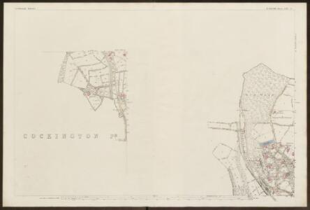 Devon CXVI.9 (inset CXVI.13) (includes: Kerswells; Torquay) - 25 Inch Map