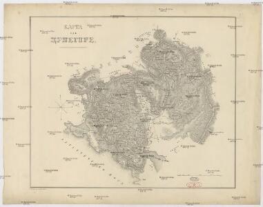 Karta od Crnegore