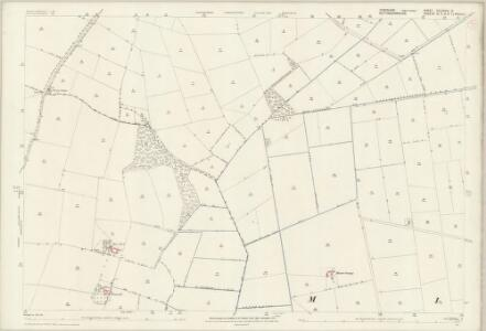 Yorkshire CCLXXXVI.13 (includes: Austerfield; Finningley; Misson) - 25 Inch Map