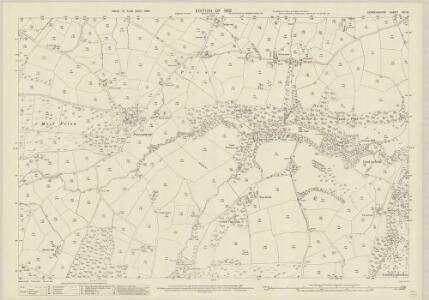 Denbighshire XIII.16 (includes: Llanrhaiadr Yn Cinmerch) - 25 Inch Map