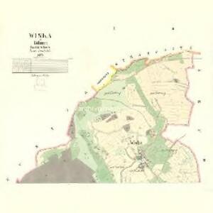 Wiska - c8611-1-001 - Kaiserpflichtexemplar der Landkarten des stabilen Katasters