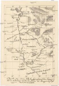 Charte von einem Theile der Spanischen Guayane über die Verbindung zwischne dem Orinoco und Amazonen Fluss