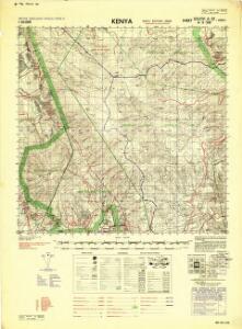 Kenya 1:50,000 (Sheet 120/III)