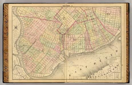 Sec. 1. Brooklyn map.