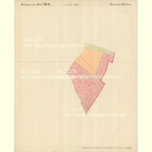 Frischau - m0269-2-008 - Kaiserpflichtexemplar der Landkarten des stabilen Katasters