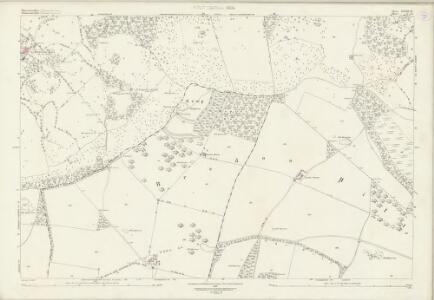 Worcestershire XLVIII.12 (includes: Bredon; Bredons Norton; Eckington; Elmley Castle; Great Comberton; Kemerton; Overbury) - 25 Inch Map