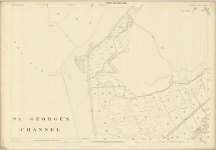 Merionethshire XXXVI.10 (includes: Abermo; Llangelynnin) - 25 Inch Map