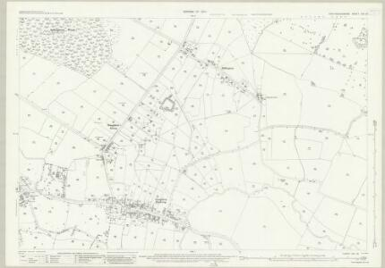 Huntingdonshire XXI.13 (includes: Great Staughton) - 25 Inch Map