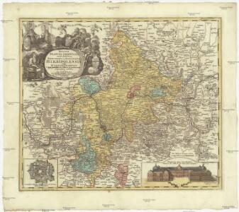 Ducatus Franciae orientalis seu Sac. Rom. imperii principatus et episcopatus Herbipolensis vulgo Würtzburgensis cum omnibus suis officiis et pertinentiis