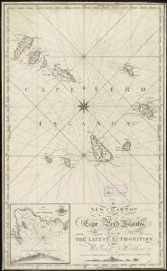 A new chart of the Cape Verd Islands, from the latest authorities