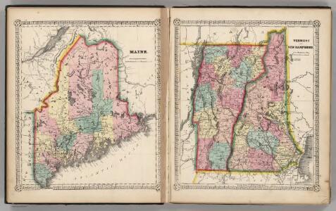 Maine.  Vermont and New Hampshire.