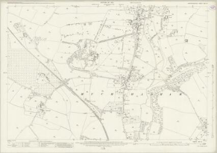 Hertfordshire XXII.15 (includes: Much Hadham) - 25 Inch Map