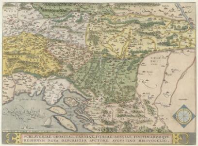Schlavoniae, Croatiae, Carniae, Istriae, Bosniae, Finitimarvmqve Regionvm Nova descriptio