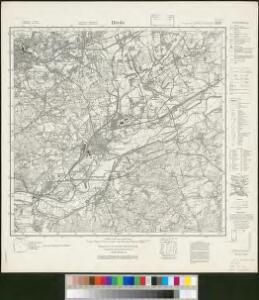 Messtischblatt 2579 : Hörde, 1935 Hörde