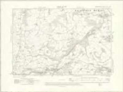 Denbighshire XIX.NW - OS Six-Inch Map