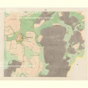 Zernowitz (Zernowice) - c9414-1-002 - Kaiserpflichtexemplar der Landkarten des stabilen Katasters