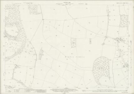 Essex (New Series 1913-) n XIII.8 (includes: Debden; Newport; Saffron Walden; Widdington) - 25 Inch Map