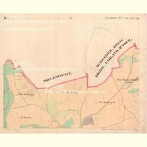 Cziczienitz - c1005-1-002 - Kaiserpflichtexemplar der Landkarten des stabilen Katasters