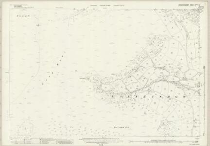 Brecknockshire XXXVI.10 (includes: Crucornau Fawr; Llanbedr Ystrad Yw; Partrishow) - 25 Inch Map