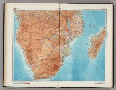 173-174.  Africa, South.  The World Atlas.