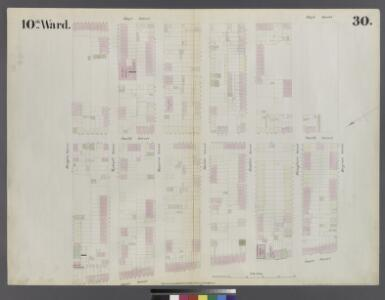 [Plate 30: Map bounded by Bergen Steet, Hoyt Street, Degraw Street, Court Street]