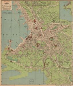 Pianta-Pharus della Città di Trieste