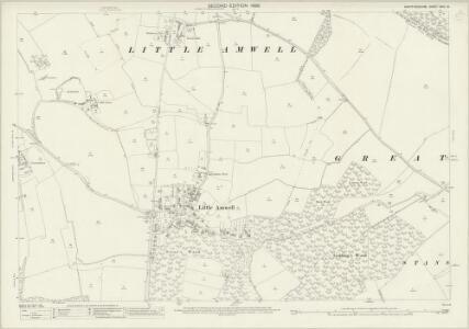 Hertfordshire XXIX.16 (includes: Brickendon Liberty; Great Amwell; Hertford; Little Amwell; Stanstead St Margaret; Ware Urban) - 25 Inch Map