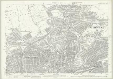 Devon CXXIII.8 (includes: Devonport; East Stonehouse; Plymouth) - 25 Inch Map