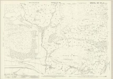 Denbighshire XXXIII.12 (includes: Corwen; Llantysilio) - 25 Inch Map