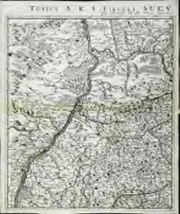 Totius s.r.i. circuli Suevici tabula chorographica, 1