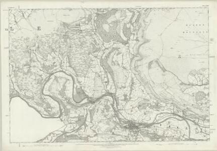 Denbighshire XXXIV - OS Six-Inch Map