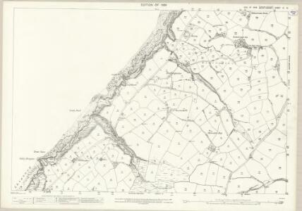 Isle of Man VI.12 - 25 Inch Map