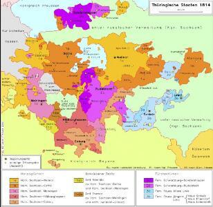 Thüringische Staaten 1814