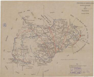 Mapa planimètric de Gurb