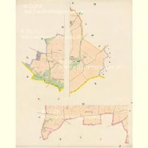 Wildstein - c6921-2-006 - Kaiserpflichtexemplar der Landkarten des stabilen Katasters