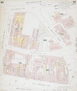 Insurance Plan of Bristol Vol II: sheet 40