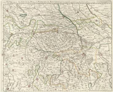 Le Cours du Po dans le Piemont et le Montferrat