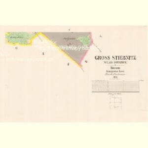 Gross Stiebnitz (Welka Sstjbnice) - c9236-2-005 - Kaiserpflichtexemplar der Landkarten des stabilen Katasters