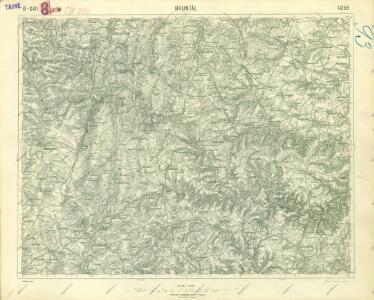 III. vojenské mapování 4059