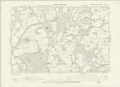 Sussex XXII.NE - OS Six-Inch Map