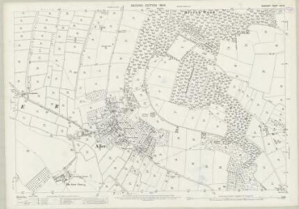 Somerset LXII.15 (includes: Aller; High Ham; Huish Episcopi) - 25 Inch Map