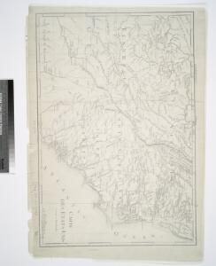 Carte des Etats-unis : provinces méridionales.