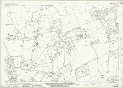 Surrey XLII.5 (includes: Burstow) - 25 Inch Map