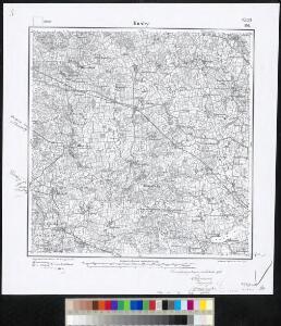 Meßtischblatt 166 : Husby, 1888