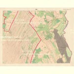 Alt Hrosenkau (Stary Hrasenkow) - m2868-1-006 - Kaiserpflichtexemplar der Landkarten des stabilen Katasters