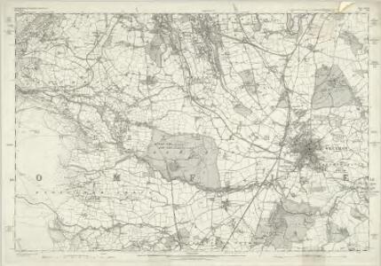 Denbighshire XXVIII - OS Six-Inch Map